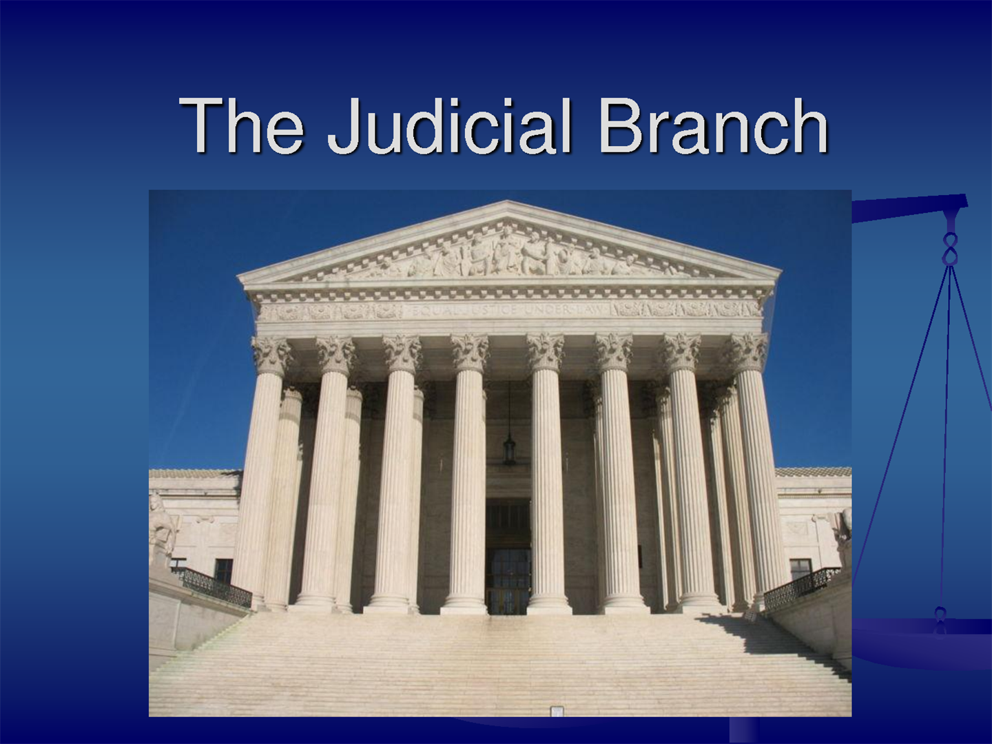 the judicial branch The executive branch the legislative branch the judicial branch the constitution federal agencies & commissions state & local government elections & voting established by article i of the constitution, the legislative branch consists of the house of representatives and the senate.