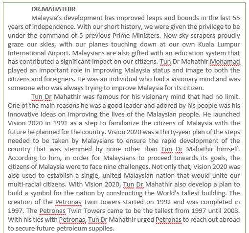 Sample of investigative essay