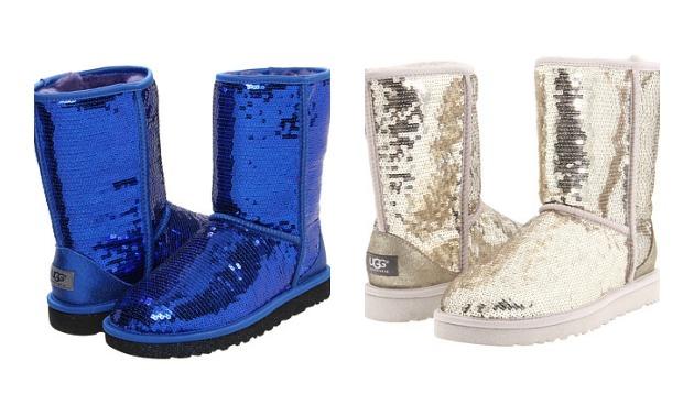 blue glitter uggs