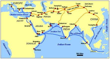 Ancient Egyptian Trade - Map of egypt greece and rome