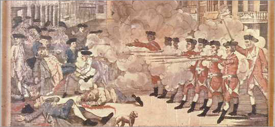 the rebellion of the colonists against britain after the boston massacre was not justified These and other factors led the city of boston to be the leading voice against british authority after all, it was the location of the boston massacre and the boston tea party fierce patriots such as james otis, samuel adams, john adams, john hancock, and paul revere were all citizens of one great city: boston.