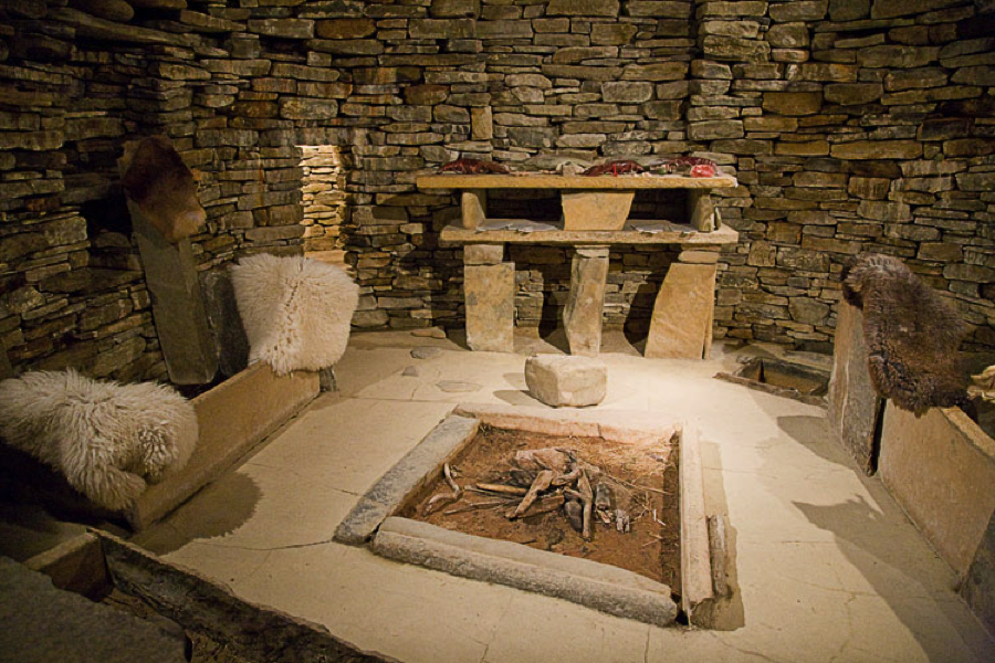 Ancient Egyptian Interior Decor : In the basic ancient Egyptian house there is the stove, the sleeping ...