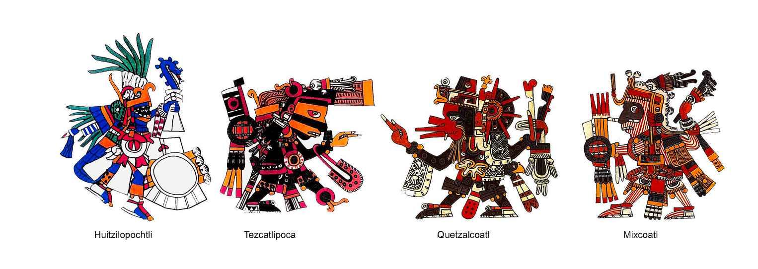 Aztec Gods on emaze