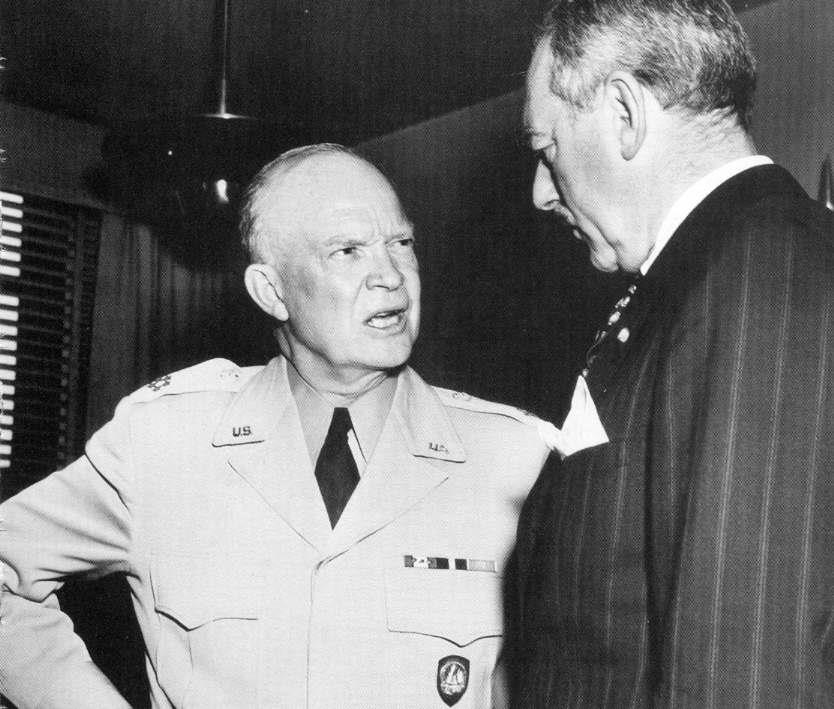 did eisenhower s nuclear threat end Would be willing to use nuclear weapons to end the  eisenhower issued a nuclear threat in line with the  eisenhower's strengths lay not in what he did,.