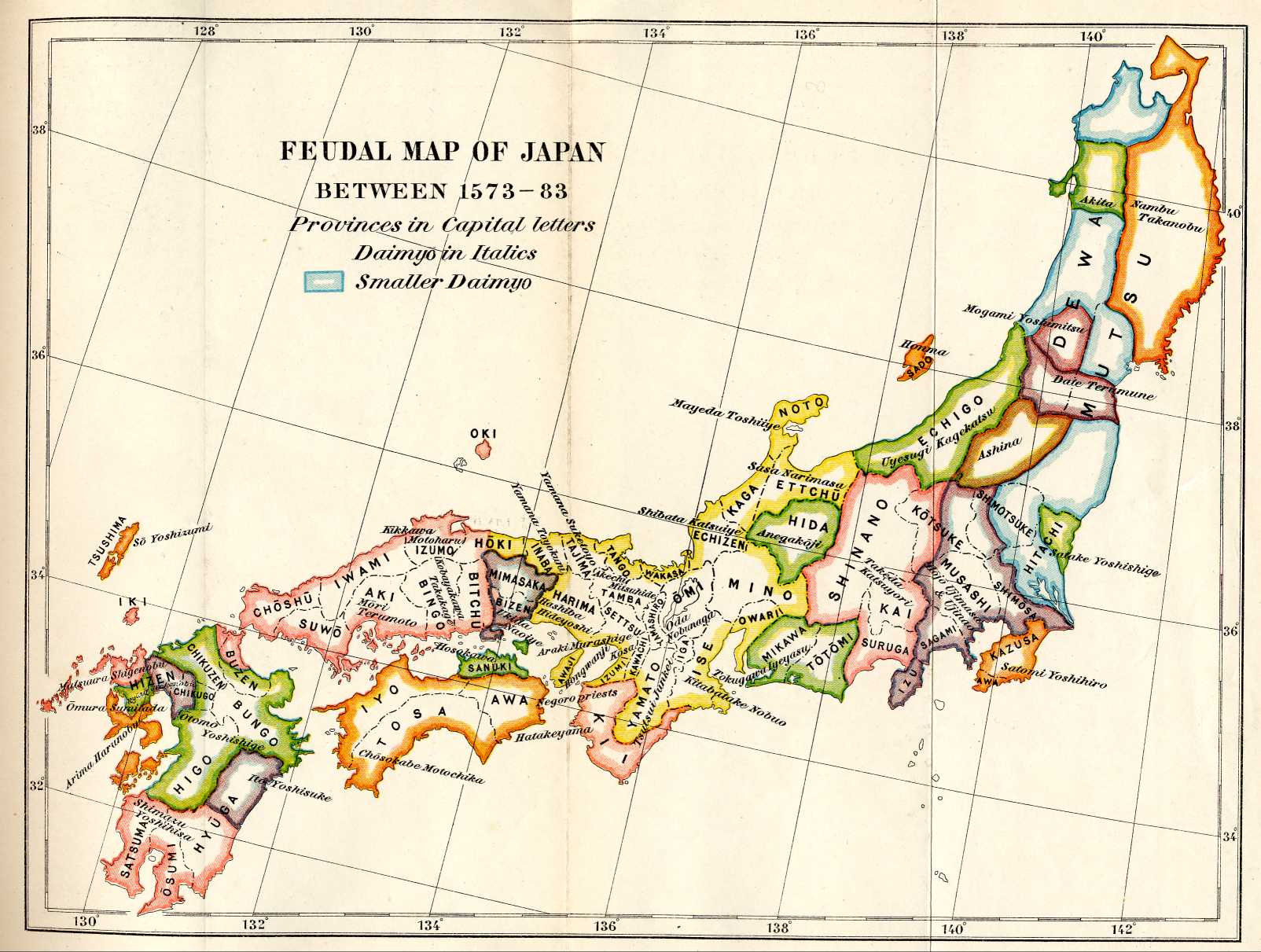 Map Of Japan 1600.The History Of Ancient Feudal And National Japan By 1021664 On Emaze