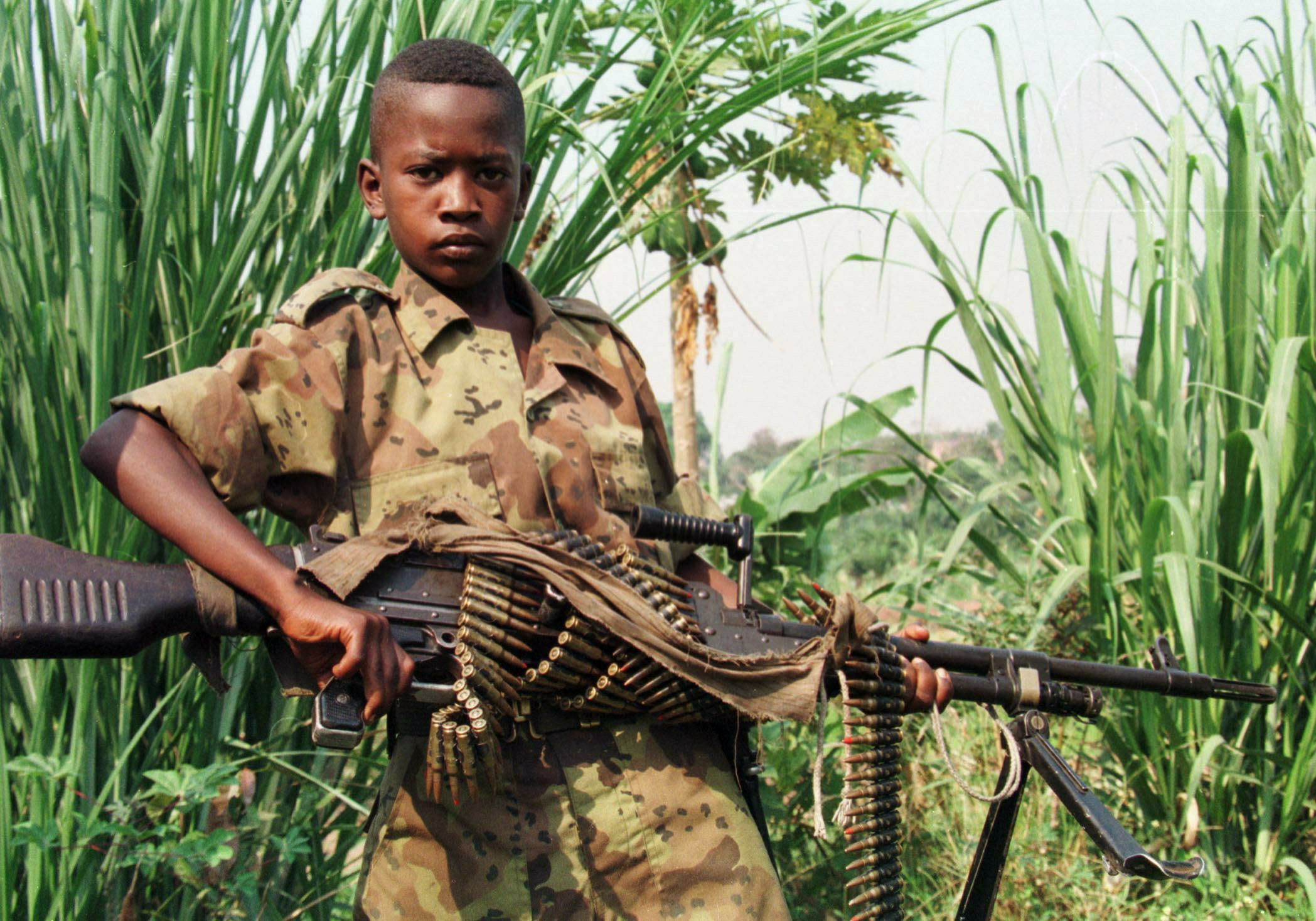 thesis on child soldiers in africa