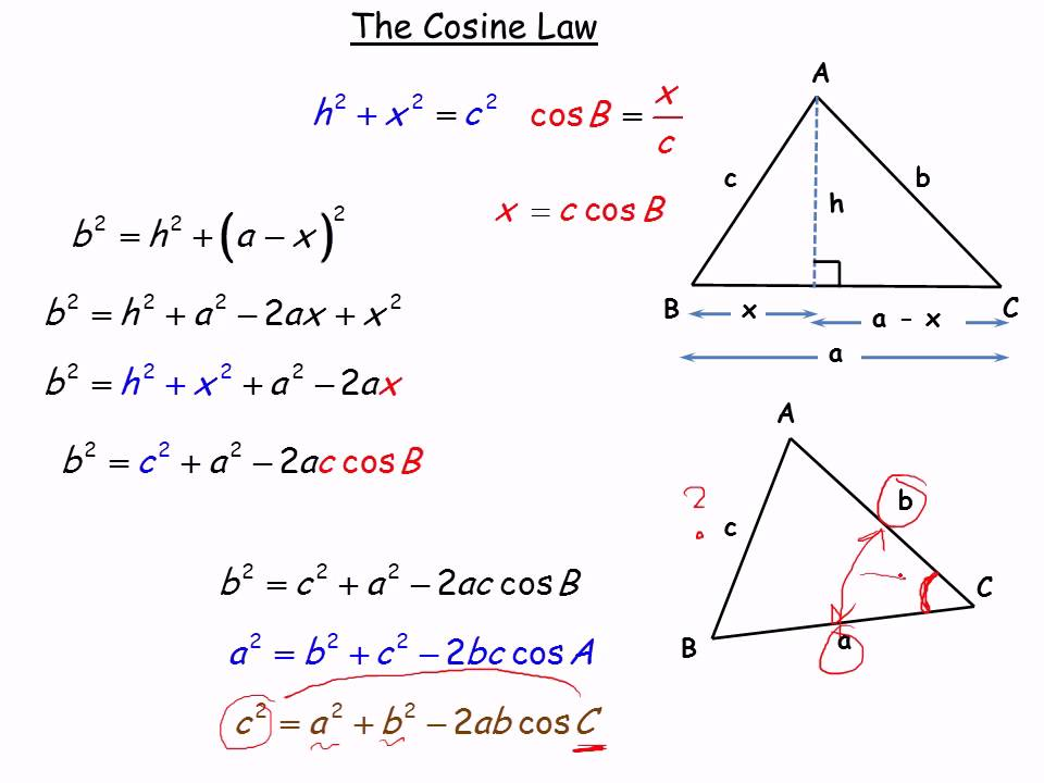 how to know how many triangles are in ambigous case