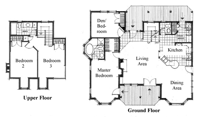 Typical floor plan of a house house design plans for Typical house layout