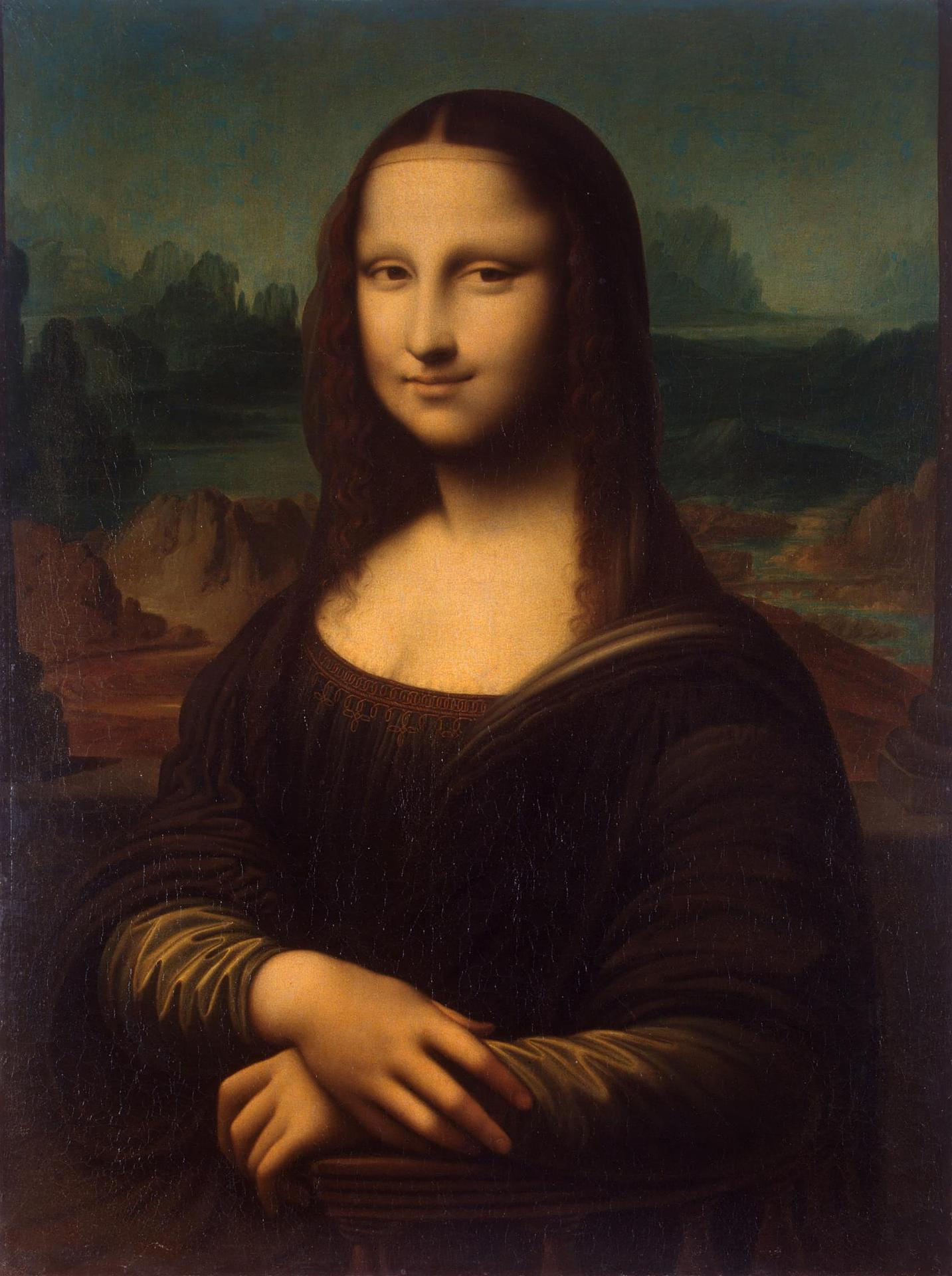 mona lisa on