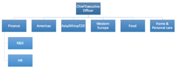 Pg vs unilever on emaze organisational structure advantage thecheapjerseys Choice Image