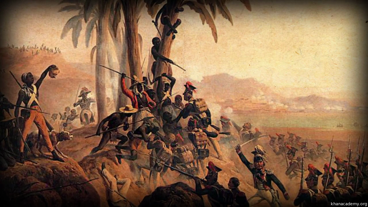 the french revolution as a spark that led to the haitian revolution The french revolution philosophical underpinnings of haitian society as a leader of the haitian revolution began when he led several negotiations between.