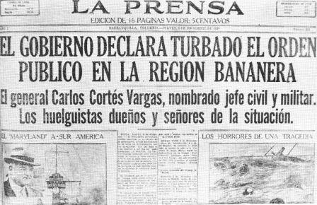 massacre de las bananeras pdf