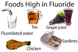 Image result for fluoride foods