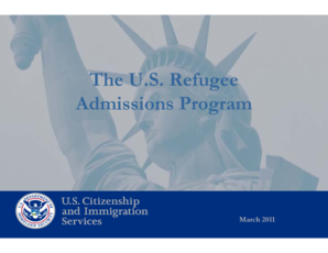 Image result for us refugee program