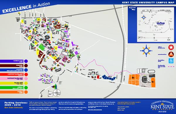 Kent State Campus Map kent state