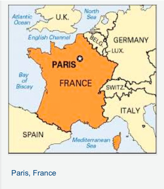 5 themes of geography paris france