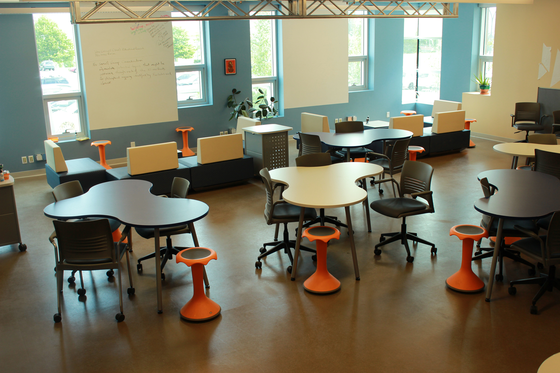 Innovative Classroom Layouts : Learning spaces by kayri shanahan on emaze