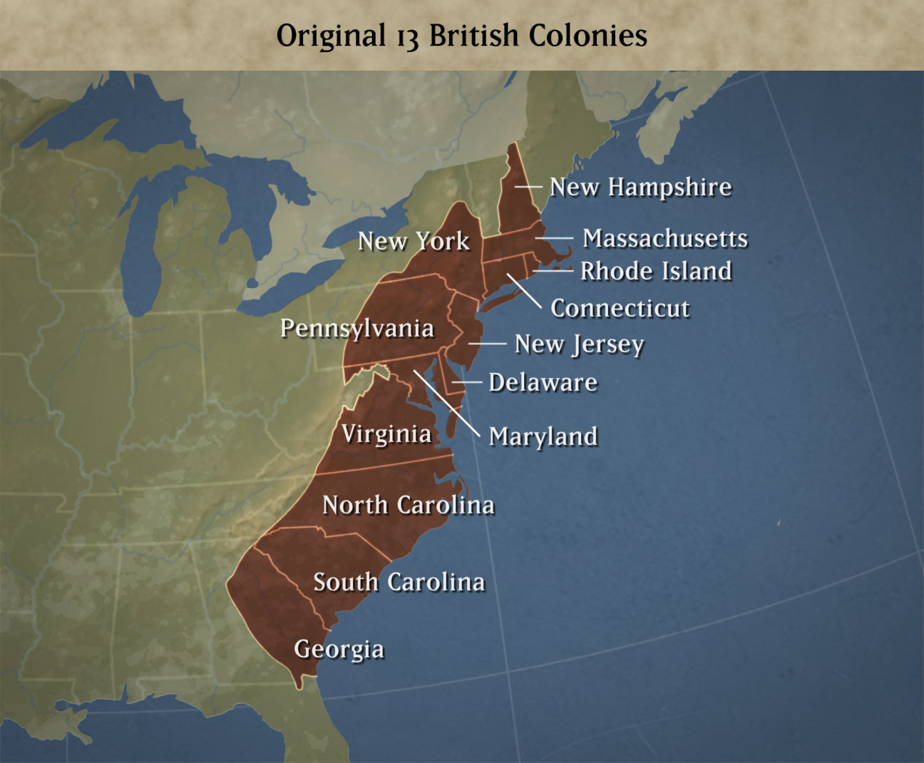 the english colonies on emaze