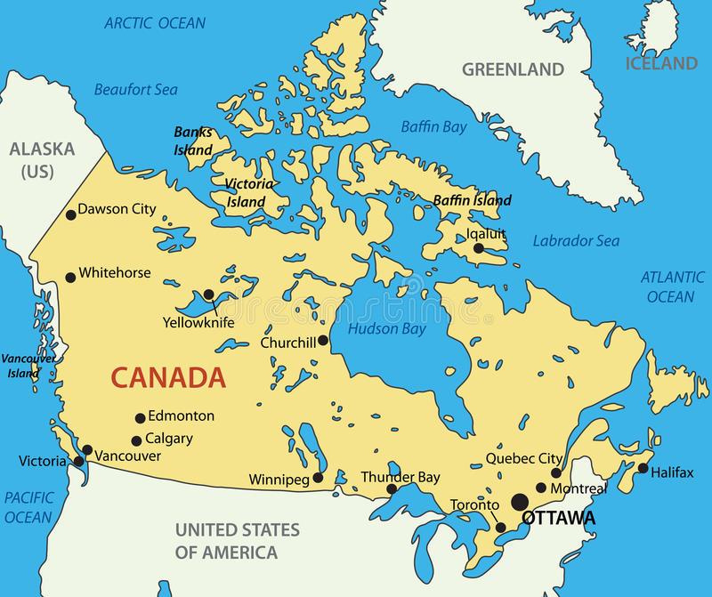 Edmonton Canada Kaart Doormelle