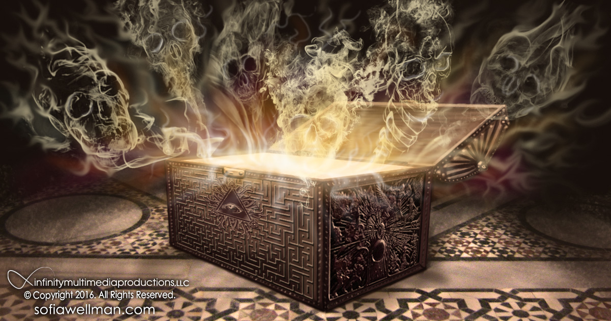 Image result for pandoras box opening