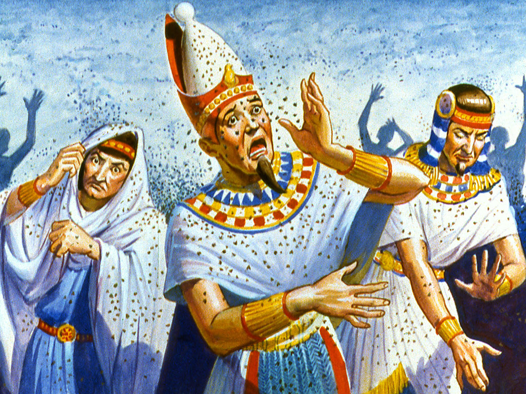 moses and the plagues on emaze