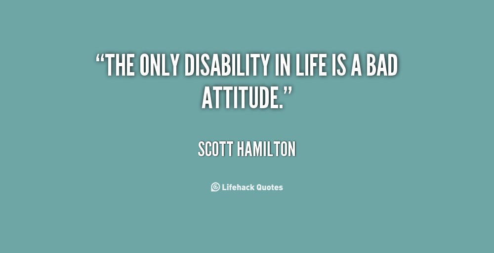 Quotes About Disabilities Prepossessing Quotes About Disabilities Custom Disability