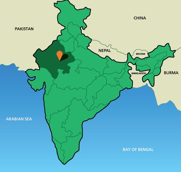 thar desert map location