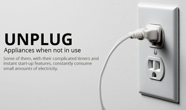 Image result for unplug appliances