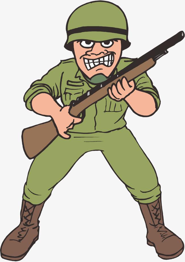 Картинки солдат мультяшных