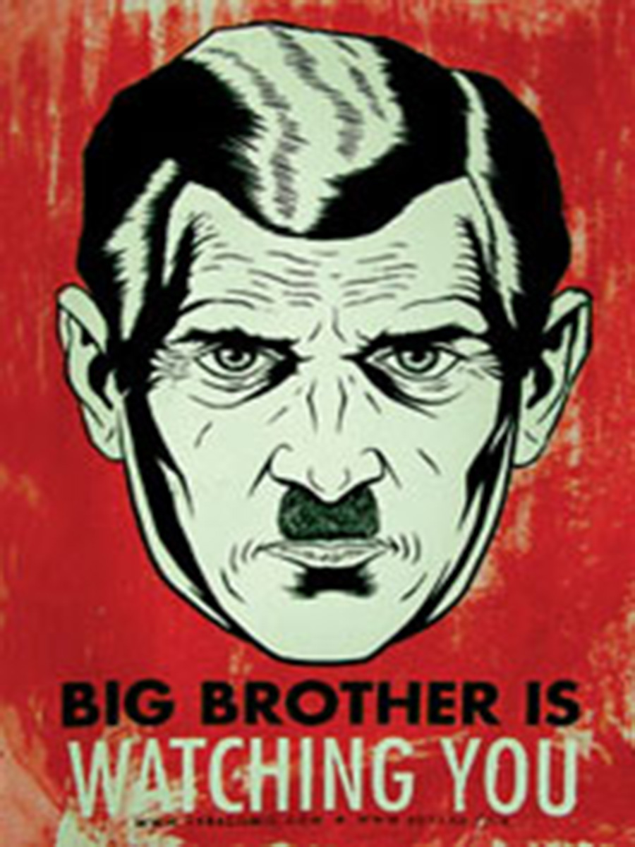 Image result for 1984 big brother poster
