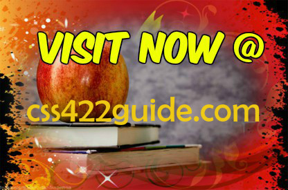 CSS 422 GUIDE Excellence In Study / css422guide com by