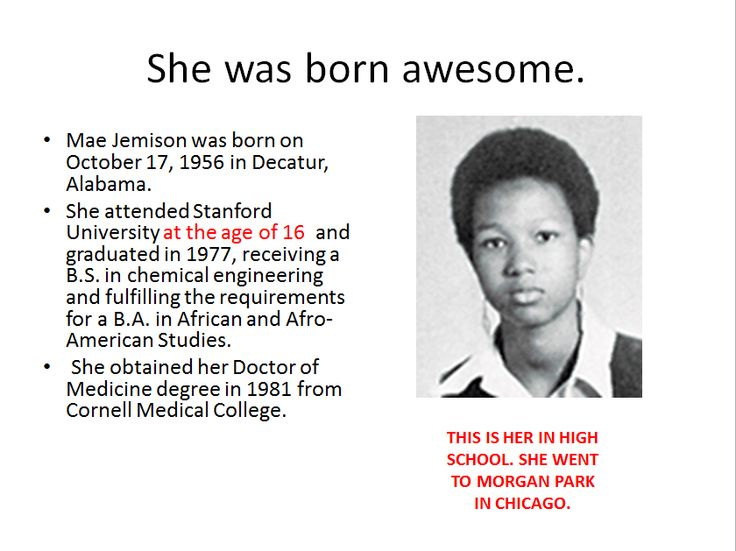Image result for mae jemison facts