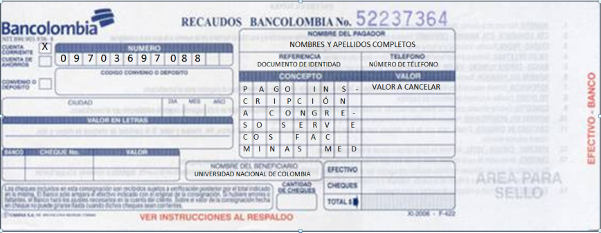 Documentos contables on emaze Bod solicitud de chequera