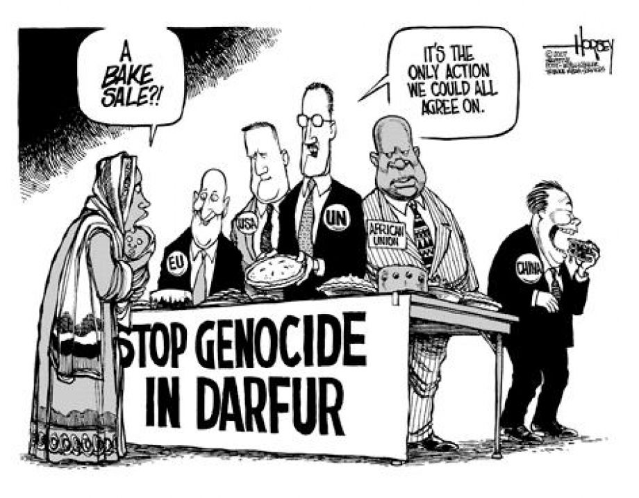 conflicts in sudan genocide in darfur Genocide in darfur with the international community focused on resolving the conflicts between the north and the south, a growing conflict in darfur was virtually ignored.