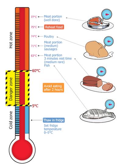 Fast Food Temperature Danger Zone