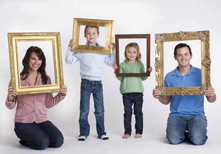 Picture Frame People Gallery - origami instructions easy for kids