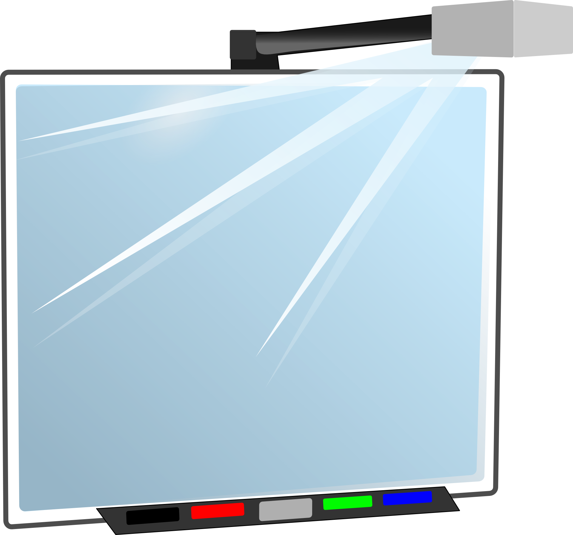 smartboard clipart transparent - 860×800
