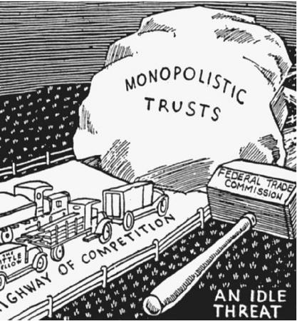 the issue of monopoly policy built on the sherman antitrust act of 1890 in the united states Public utility regulation and the federal antitrust but the antitrust division of the united states depart- the sherman antitrust act of 1890 was designed to pro-.