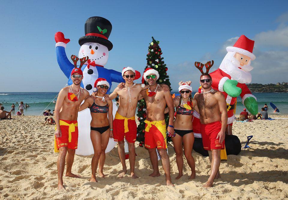 Australia's Christmas on the coast