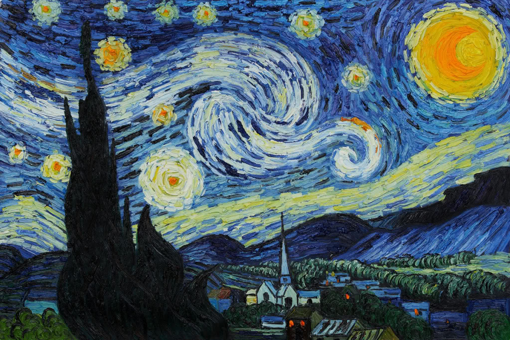 """a comparison of starry night by vincent van gogh and anne sexton In """"the starry night,""""anne sexton was inspired not only by vincent van goght greatly influenced van gogh's """"the starry night"""" sexton compare and."""