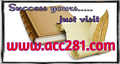 ACC 281 Possible Is Everything / acc281 com by c hristofer