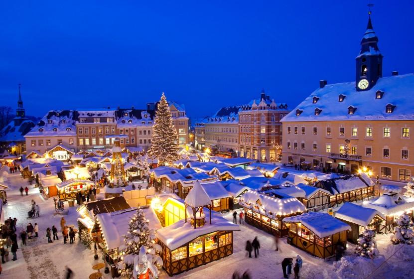 Schönster Weihnachtsmarkt Deutschlands.Weihnachten In Deutschland