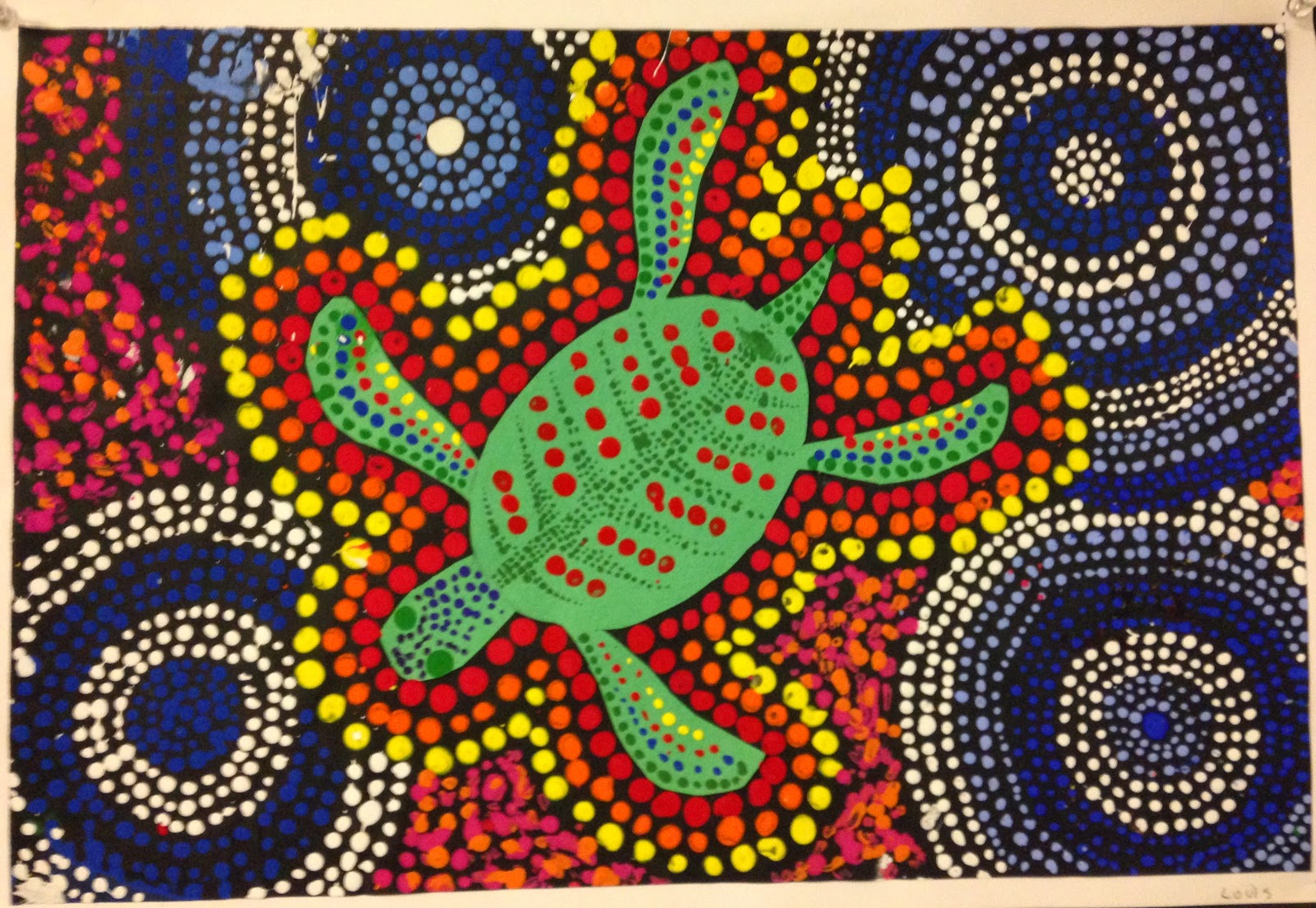 Indigenous Australian Art Dot Painting Defendbigbird Com