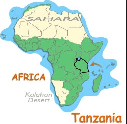 Mt Kilimanjaro On World Map.Mt Kilimanjaro