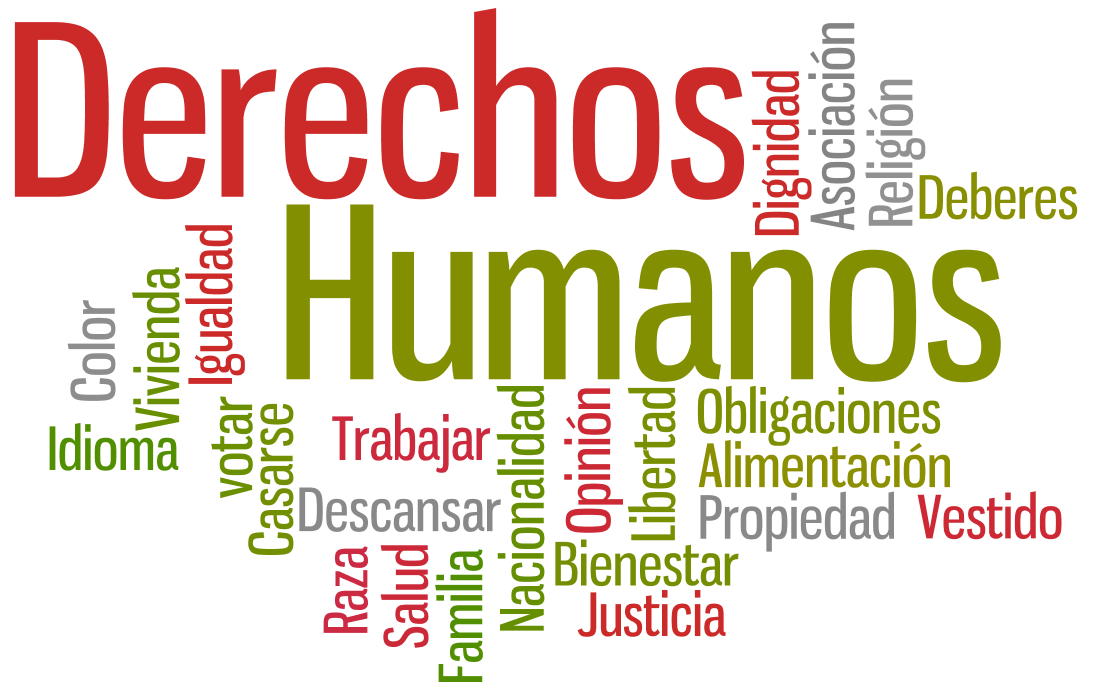 """Résultat de recherche d'images pour """"derechos humanos"""""""