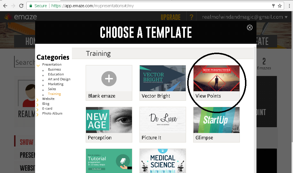 how to use emaze on emaze, Presentation templates
