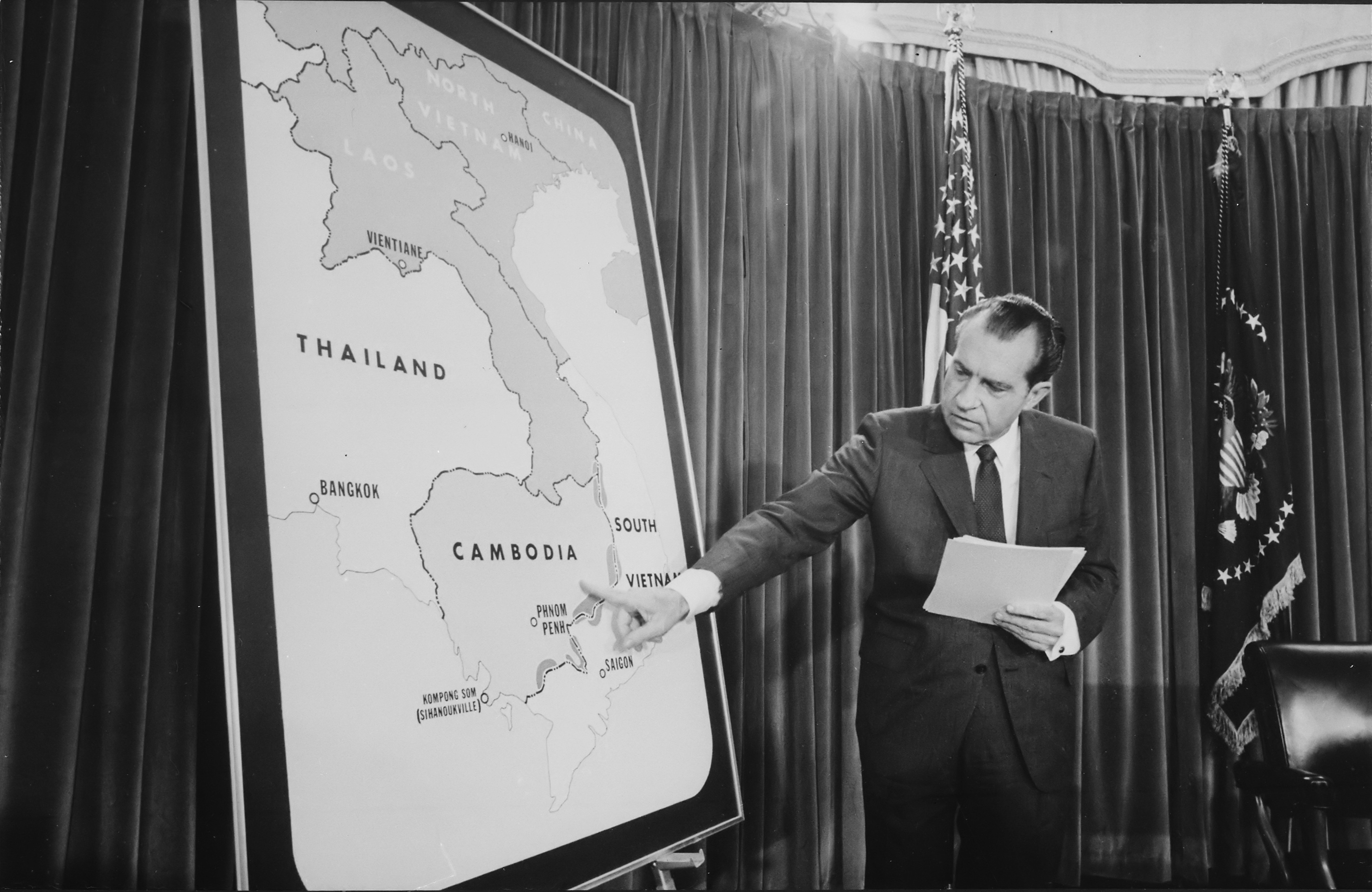 Where can I get American news broadcasts from the Vietnam War to help with my coursework?