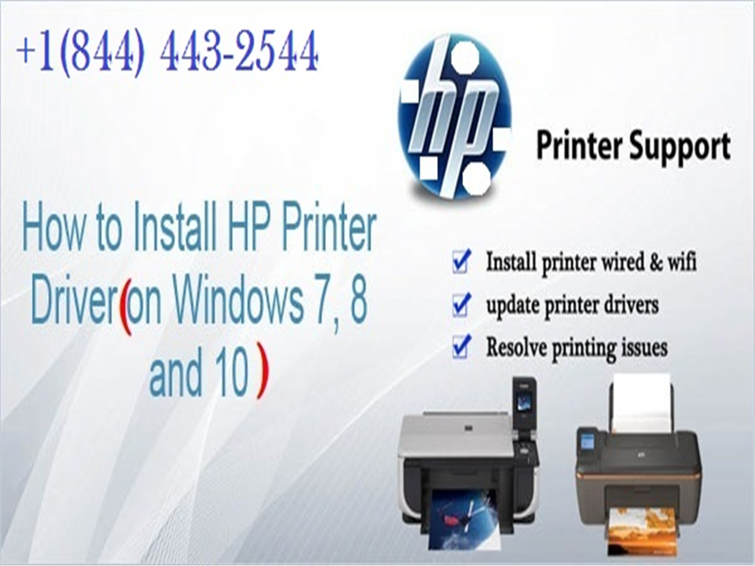 Call 1-844-443-2544 HP Printer Technical Support phone Number for HP  Printer Repair by ankushsachin8055 on emaze