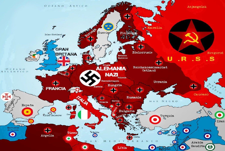 DDay  Historical Atlas of Europe 20 June 1944  Omniatlas