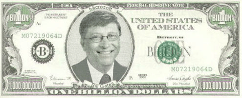 How Much Money Does He Get In A Second Bill Gates Gets 11416 Every And If Saw 100 On The Floor Wouldnt Waste His Time By Picking